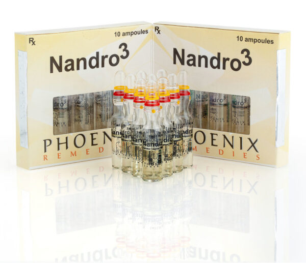 Buy Phoenix Remedies Nandro3 10 Ampoules - Online Steroid Store